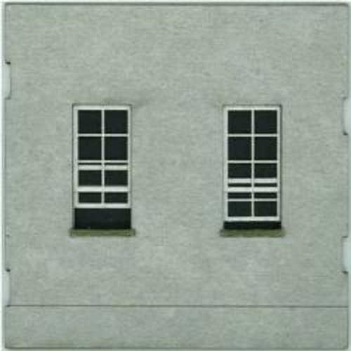 HO-SCALE; FACE (WINDOW-WINDOW) CONCRETE 4-PACK
