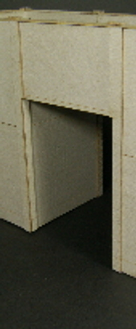 HO-SCALE: FACE (PASS THROUGH) CONCRETE 1-SET