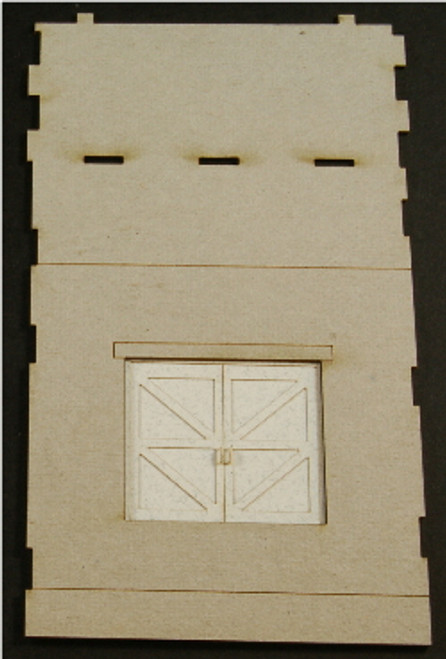 HO-SCALE: FACE (PASS THROUGH-DOOR) CONCRETE 1-SET
