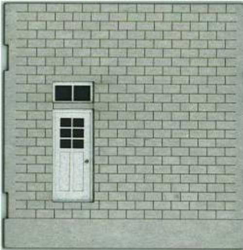HO-SCALE: FACE (DOOR-BLANK) CINDER BLOCK 4-PACK