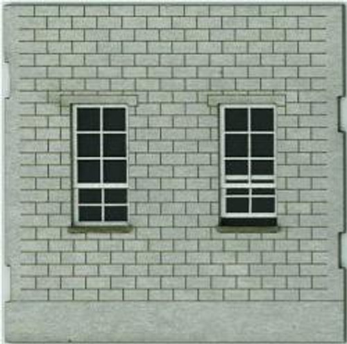 HO-SCALE: FACE (WINDOW-WINDOW) CINDER BLOCK 4-PACK