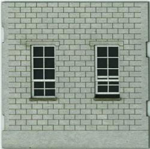 HO-SCALE: FACE (WINDOW-WINDOW) CINDER BLOCK 4-PACK