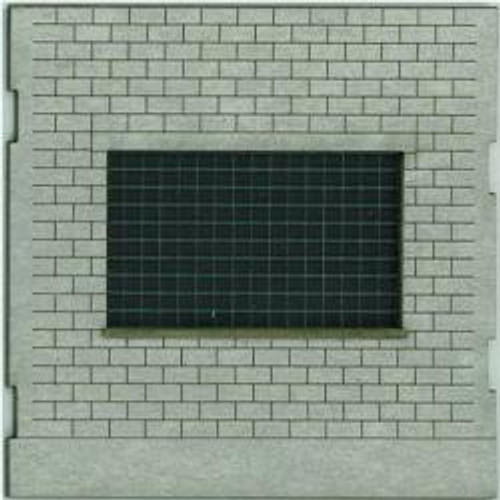 HO-SCALE: FACE (GLASS BLOCK) CINDER BLOCK 4-PACK