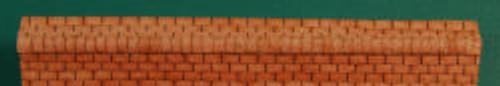 HO-SCALE RIDGE CAP 3-TAB (BROWN)