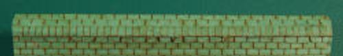 HO-SCALE RIDGE CAP 3-TAB (GREEN)