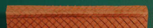 HO-SCALE RIDGE CAP DIAMOND (BROWN)