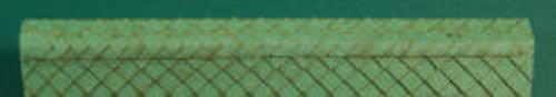 HO-SCALE RIDGE CAP DIAMOND (GREEN)