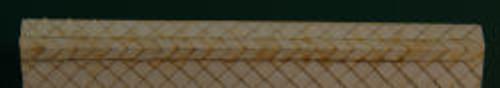 HO-SCALE RIDGE CAP DIAMOND (WHITE)