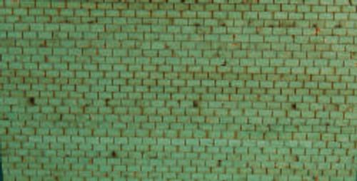 HO-SCALE ROOF SHINGLES 3-TAB (GREEN)