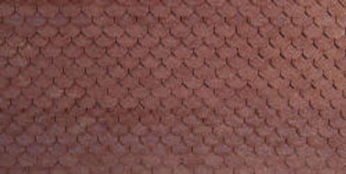 HO-SCALE ROOF SHINGLES SCALLOPED (BLACK)