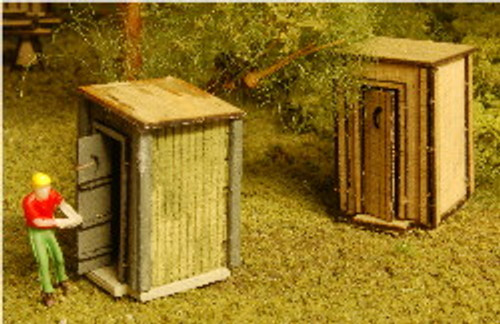 N-SCALE OUT HOUSE 2-PK