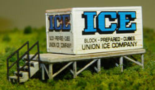 N-SCALE CLASSIC METAL WORKS (BULK ICE PLATFORM)