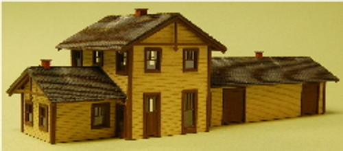 03021 - N-SCALE FREIGHT DEPOT