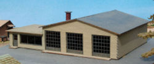 N-SCALE M&J SERVICE STATION