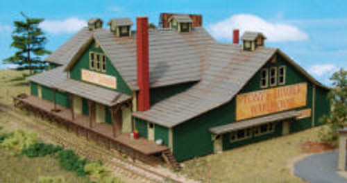 N-SCALE TONY'S LUMBER WAREHOUSE