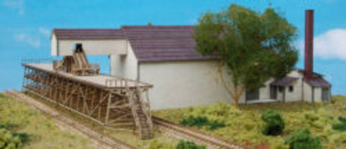N-SCALE ICEHOUSE W/PLATFORM