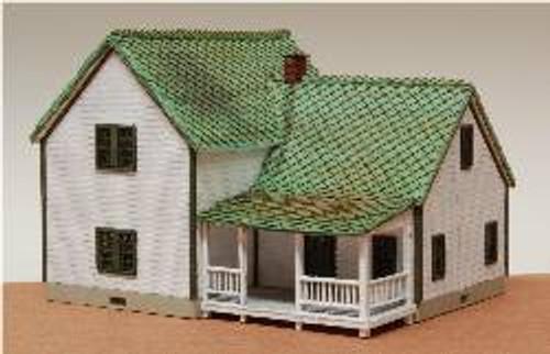 N-SCALE FARM HOUSE