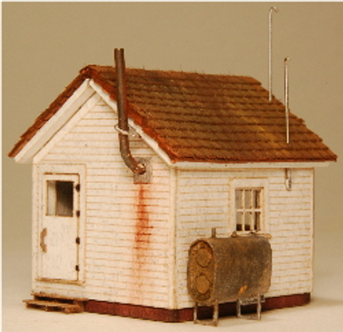 N SCALE WEST END SHACK