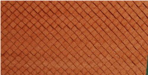 N-SCALE ROOF SHINGLES DIAMOND (BROWN)