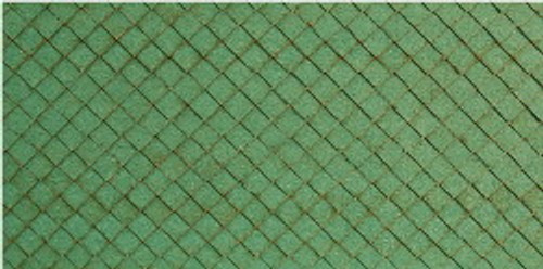 01137 - N-SCALE ROOF SHINGLES DIAMOND (GREEN)