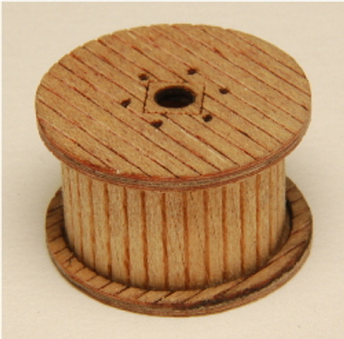 01191 - N-SCALE CABLE REELS (LOADED) 6-PK