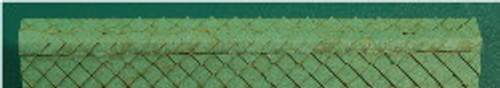 N-SCALE ROOF SHINGLES DIAMOND RIDGE CAP (GREEN)