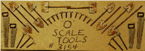 O-SCALE TOOL SET 30-PCS