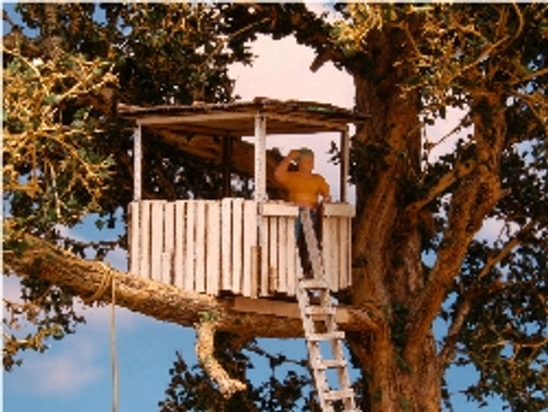 O-SCALE TREE HOUSE