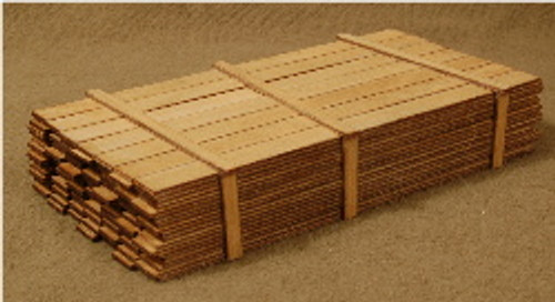 O-SCALE LUMBER LOAD 1-18'