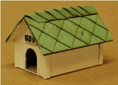 S-SCALE DOG HOUSE 2-PK