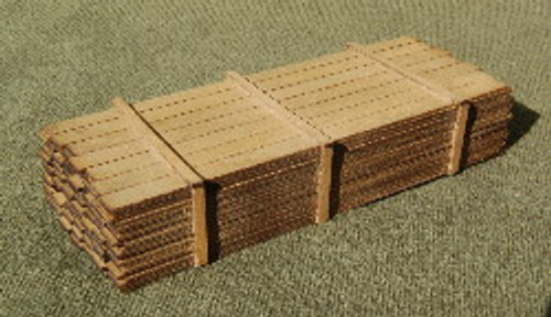 S-SCALE LUMBER LOAD 1-16'