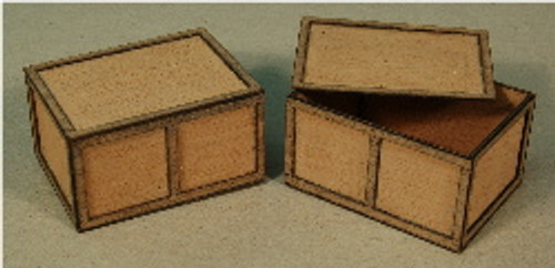 A-SCALE PLYWOOD CRATE-8 2-PACK