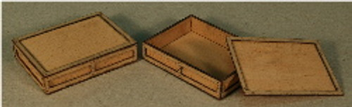 A-SCALE PLYWOOD CRATE-10 2-PACK