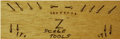 Z-SCALE TOOL SET 30-PCS