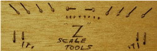 Z-SCALE TOOL SET 30-PCS