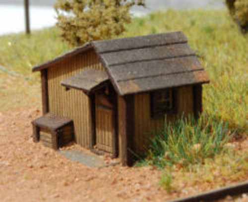 Z-SCALE TOOL SHED 2-PK