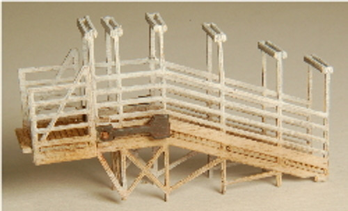 Z-SCALE STOCK LOADING RAMP