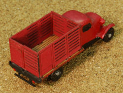 Z-SCALE TRUCK BED (CATTLE)