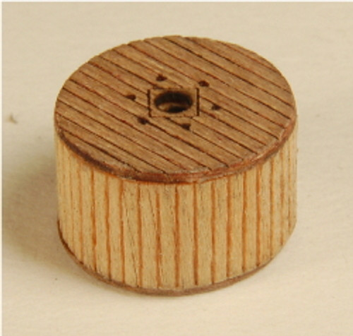 Z-SCALE CABLE REELS (COVERED) 6-PK