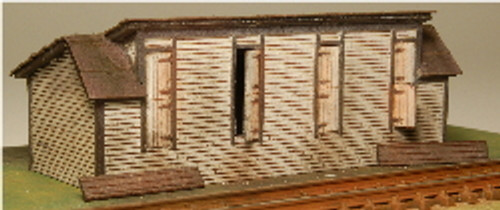 Z-SCALE COAL SHED