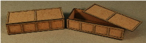 A-SCALE PLYWOOD CRATE-11 2-PACK