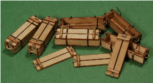 A-SCALE WOOD CRATE-1, 6-PACK