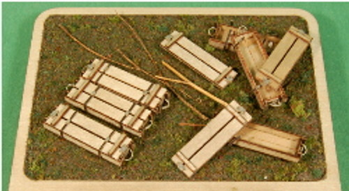 1:35-SCALE 75MM 2-RND TANK 6-PACK