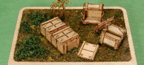 1:35-SCALE 37MM TANK, 20-RND (TRACER) BOX, 4-PACK
