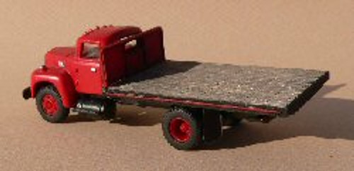 HO-SCALE TRUCK BED (FLAT)