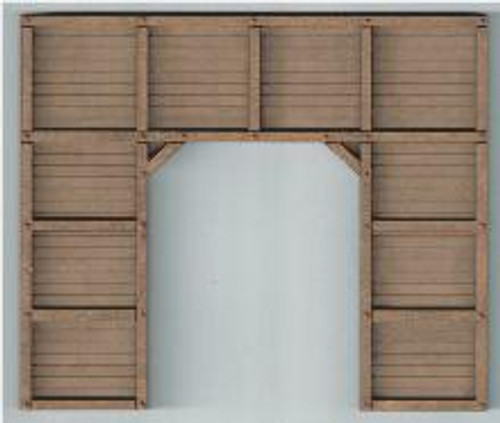 19110 HO-SCALE PORTAL TIMBERS SINGLE