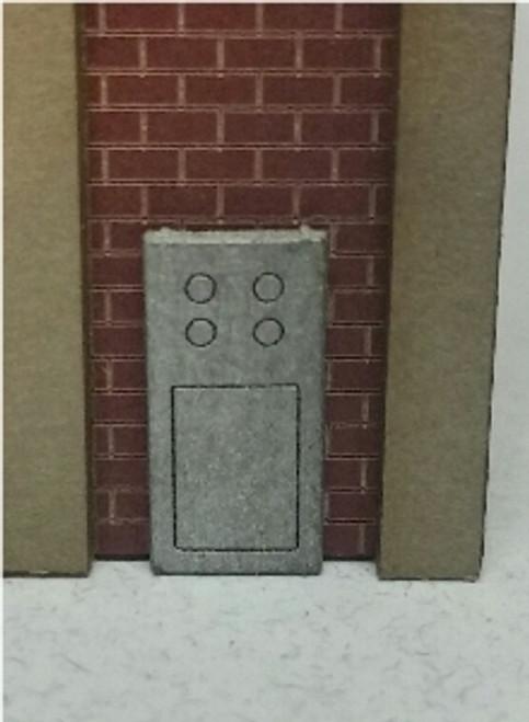 09038 N-SCALE GAS METERS & ELECTRIC PANELS 4-PACK