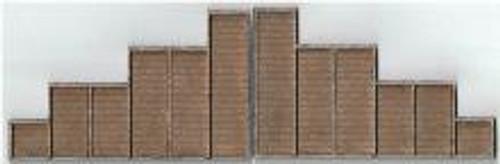 09111 N-SCALE ABUTMENTS TIMBERS 2-PCS
