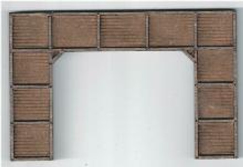 09115 N-SCALE PORTAL TIMBERS DOUBLE