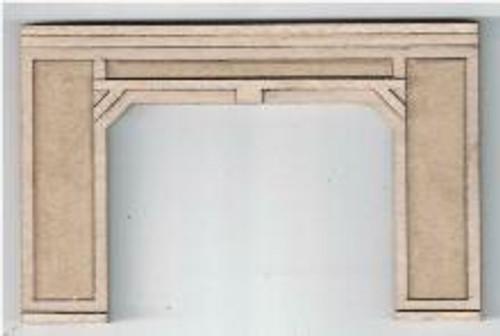 Double Portal Shown, Construction Same, Yet Larger. 09119 N-SCALE PORTAL CONCRETE TRIPLE